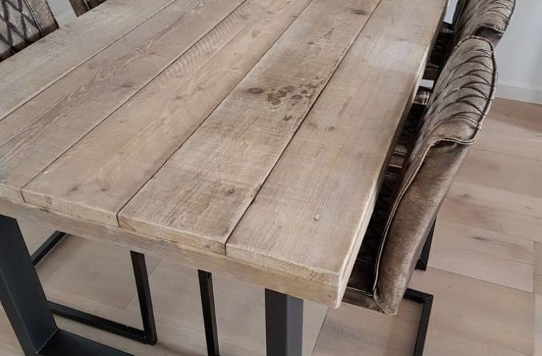 Stół Drewniany Industrialny